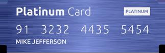 Membro Platinum Card