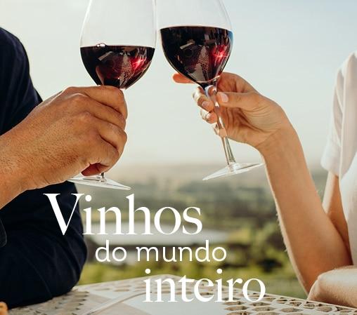 Vinhos do mundo inteiro