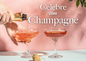 Celebre com Champagne